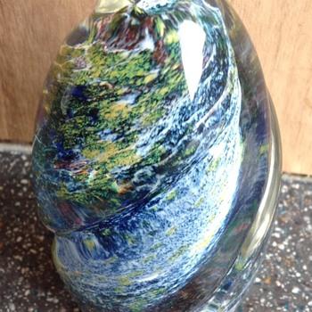 Vincenzo Speranza Avondale Pembrokeshire Art Glass Paperweight.   - Art Glass