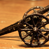 ~~~Old Cast Iron Toy Cannon~~~