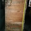 Vacuum Oil crate? 5ft long. Unsure if original?