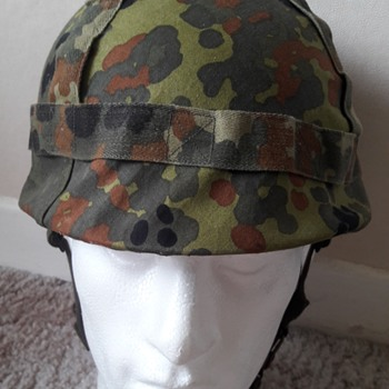 West German M1A1 helmet 1980s - Military and Wartime