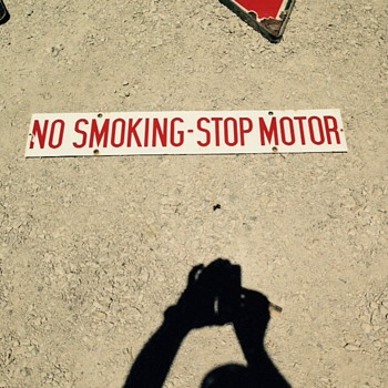 No Smoking - Petroliana