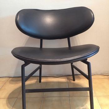 Mid-Century metal base easycahir - Furniture