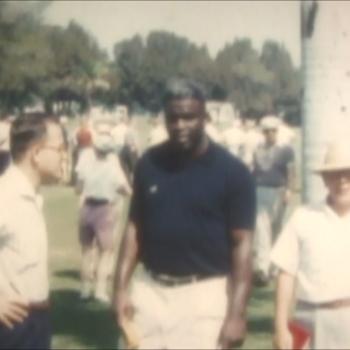 Jackie Robinson Golfing - Baseball