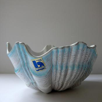 unusual Bertoncello Bowl - Pottery