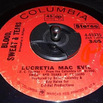 45 RPM SINGLE....#225 - Records