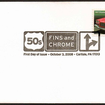 2008 - '57 Chrysler 300C Stamp First Day Cover - Stamps