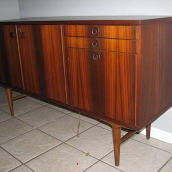 Rosewood Credenza from Sweden  - Mid-Century Modern