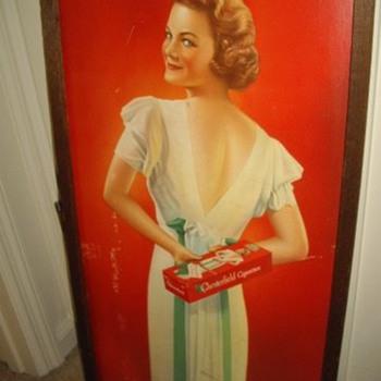 Vintage Chesterfield Cigarettes Ad  - Tobacciana