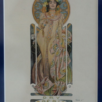 Mucha – An Art Nouveau Artist Extraordinaire…..  - Art Nouveau