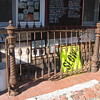 Antique Cast Iron Gate w/Posts