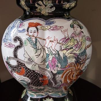 Beautiful Asian lamp - Lamps
