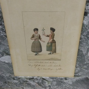 ANTIQUE DOLL PRINT - Fine Art