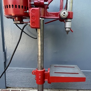 Restored Antique Drill Press - Identify Manufacturer?? - Tools and Hardware