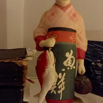 "The ""Fisherlady"" statue - Asian"
