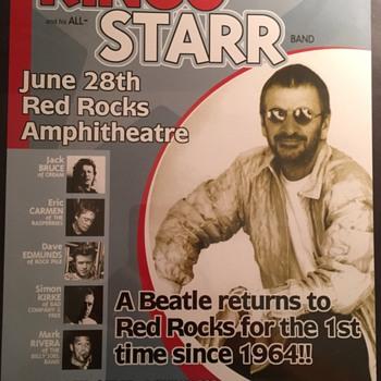 Ringo Starr poster-2000 - Music Memorabilia