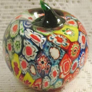 Murano Millefiori paperweights - Art Glass