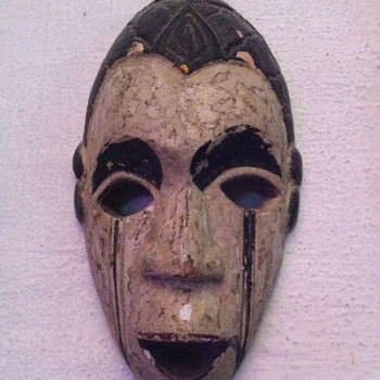 Wooden Mask from Bali  - Fine Art
