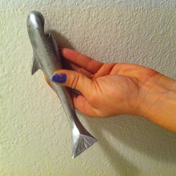 My adorable retro shark bottle opener - Animals
