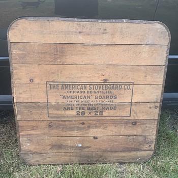 American stove board