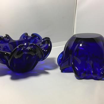 Vintage glass bowls  - Art Glass