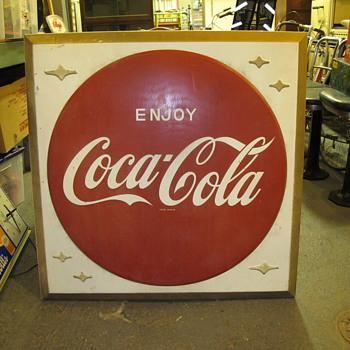 Coca-Cola Sign, Original Mini Coke Cooler, Ferrari Race Car, Hire's Root Beer - Coca-Cola
