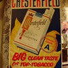 Chesterfield Cigarettes...Embossed Tin Sign