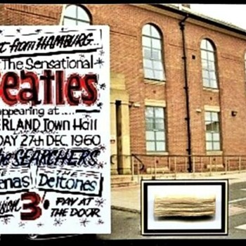 Litherland Town Hall stage piece-December 27, 1960 - Music Memorabilia