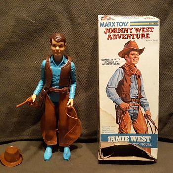 Marx Jamie West With Johnny West Adventures Box 1975-1977 - Toys