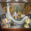 Fratelli Toso Murano Early Rainbow Art Glass