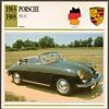 Vintage Car Card - Porsche 356 SC