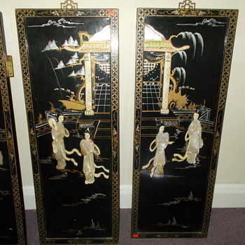 donated doors in Chinese style decoration - Asian