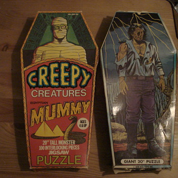 Vintage Monster Puzzles