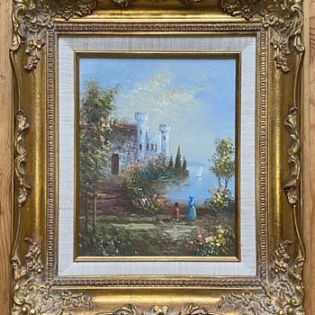 """Oil painting """"G Hudson"""" ? - Fine Art"""