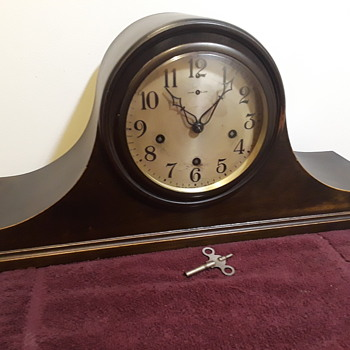 my antique NEW HAVEN mantle clock (#1) - Clocks