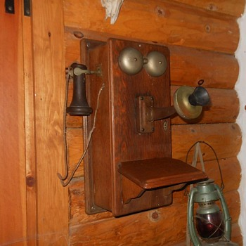 Western Electric Wall Phone Model 317R 1911-1915 - Telephones