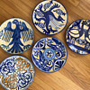 Handpainted plates from Spain