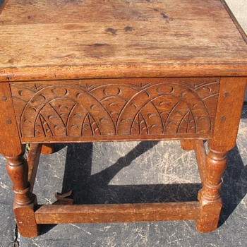 What is this old English piece and its worth? - Furniture