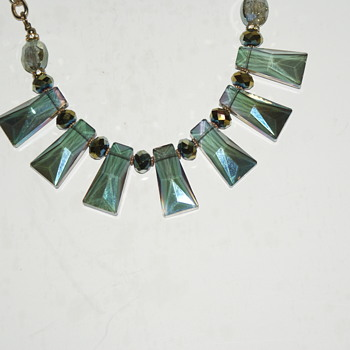 Crystal Necklace - Costume Jewelry