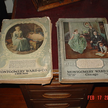 1925 and 1926 Montgomery Ward & Co. Catalogs - Books