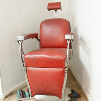 Shave & haircut, two bits: Barber Shop Chair - Furniture