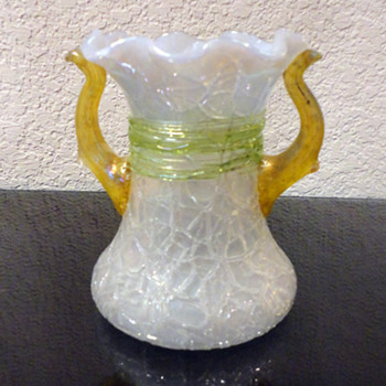Unknown Tree Branch Vase - Art Glass