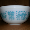 Vintage Pyrex Dishes in Butterprint Design