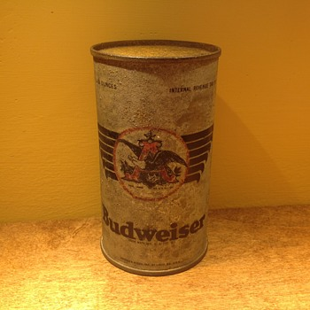 Budweiser military can - Breweriana