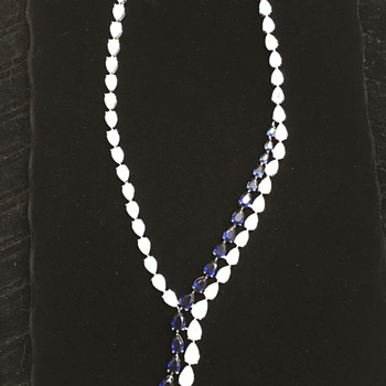 Gorgeous crystal mystery necklace - Costume Jewelry