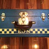 (Malle) Bernard French Trunk 1920's or 30's 1/4 size cabin