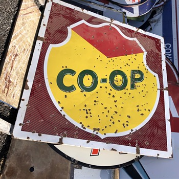 Early Coop sign - Signs