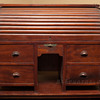 Folk art?  Salesman Sample?  Mini Roll-top desk
