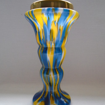 Czech Art Deco Welz Vases  - Art Glass