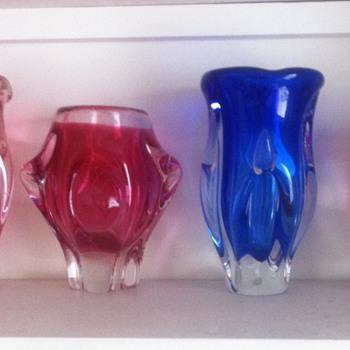 Chribska line-up - Art Glass