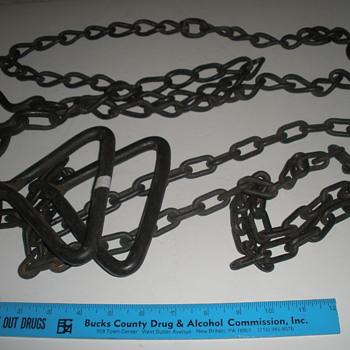 hog scalding chains - Animals